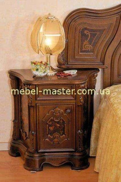Деревянная тумбочка прикроватная в спальню Юлианна, MOBEX