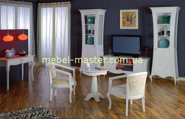 Бедые витрины в гостиную комнату Капри с тв тумбой, Румыния