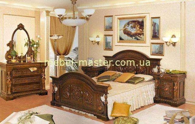 Резная мебель в спальню Флорента, Мобекс