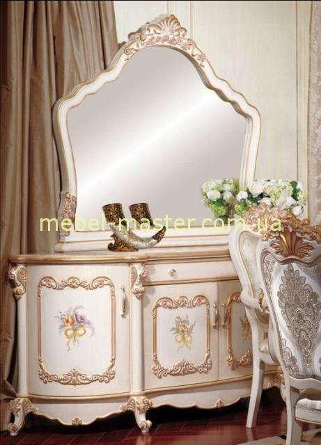 Кремовый буфет в мебельный гарнитур Лайма, Аванти