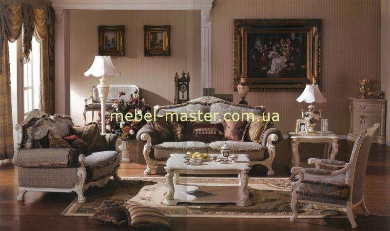 Комплект белой мягкой мебели Карпентер 208