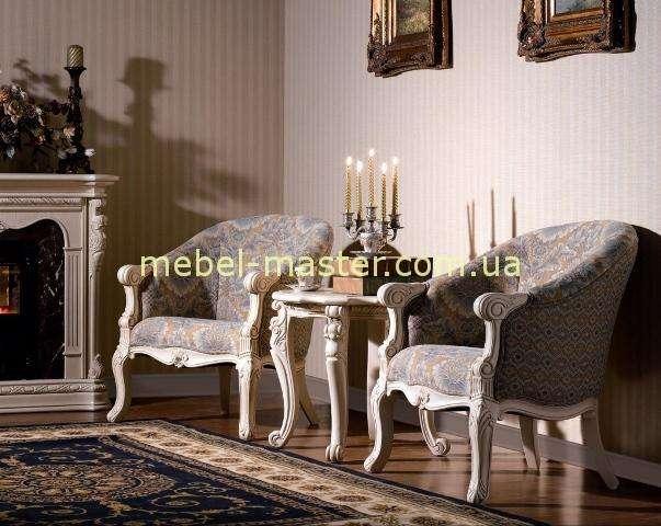 Белый часйный набор мягкой мебели Карпентер 208