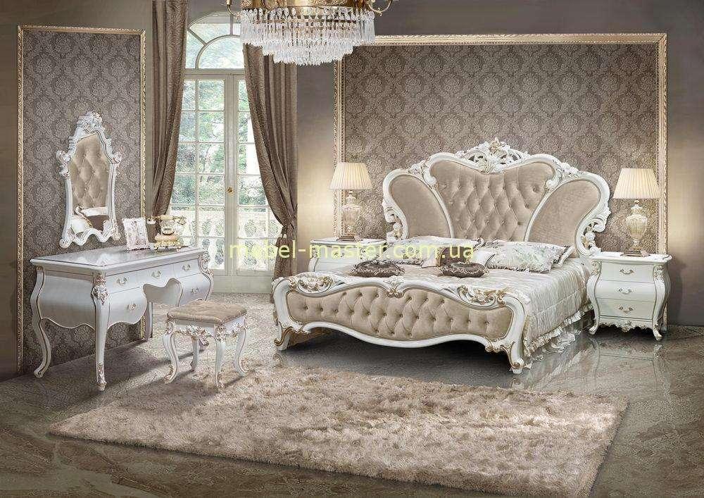 Классическая мебель для белой спальни Пале Рояль, Малайзия