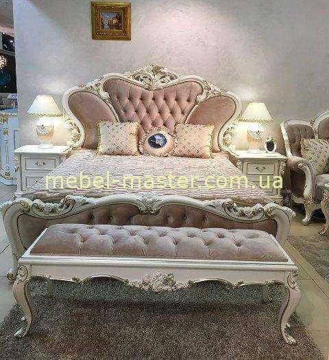 Мебель для спальни в стиле барокко Пале Роял. Энигма