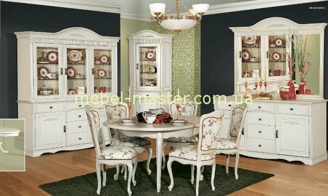 Белая классическая мебель для столовой Анна, Румыния