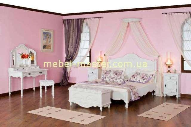 Белая мебель в стиле прованс Лаванда