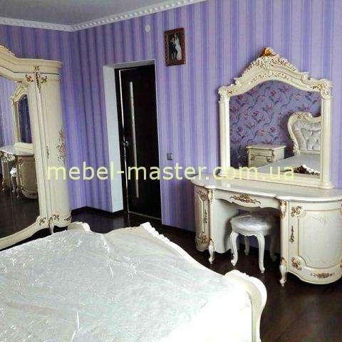 Туалетный стол с зеркалом в спальню Элиана, Слоним