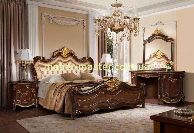 Коричневая мебель для спальни Элиана, Слониммебель