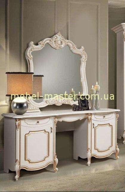 Белый туалетный стол в спальню Лорена, Слониммебель