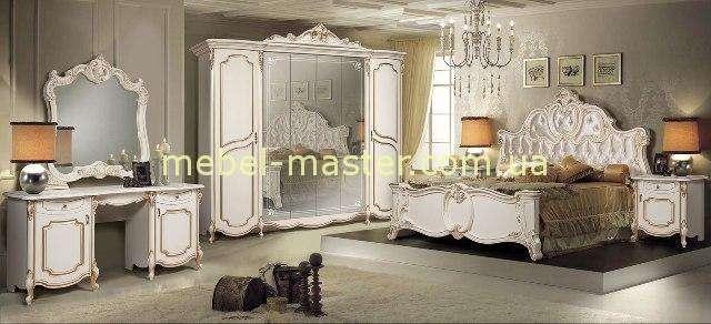 Комплект мебели в цвете слоновая кость Лорена, Слониммебель.