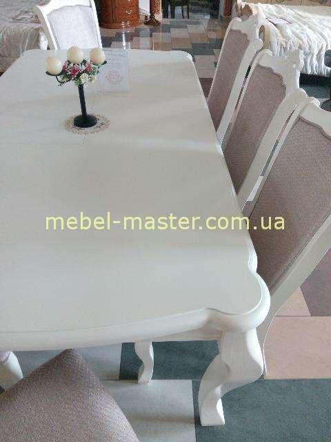 Столешница белого обеденного стола Севилья, София