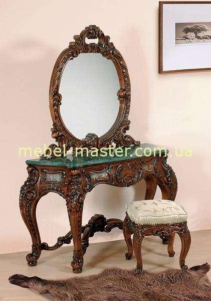 ркзной туалетный столик с зеркалом Клеопатра Люкс, Симекс