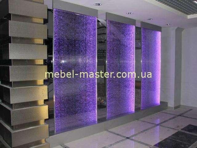 Воздушно-пузырьковая цветная стеновая панель