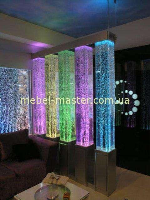 Воздушо-пузырьковые стеновые панели и перегородки для ресторанов, баров и кафе