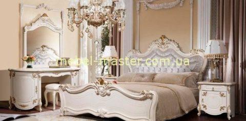 Классический мебельный гарнитур с золотом Элиана, Слониммебель