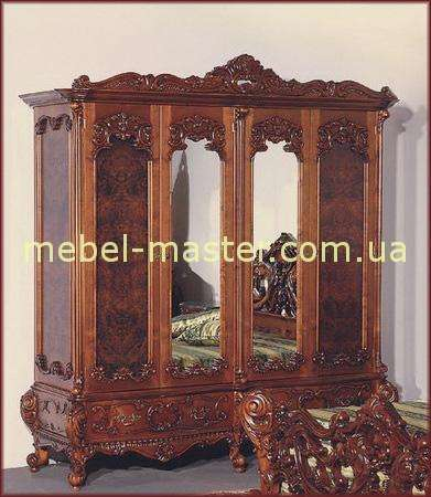 Шкаф на 4 двери Клеопатра Люкс, Румыния, Симекс