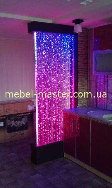 Декоративная цветовая стеновая панель-перегородка