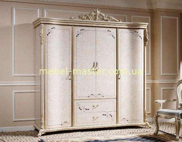 Шкаф на четыре двери с инкрустацией Ренессанс, Энигма