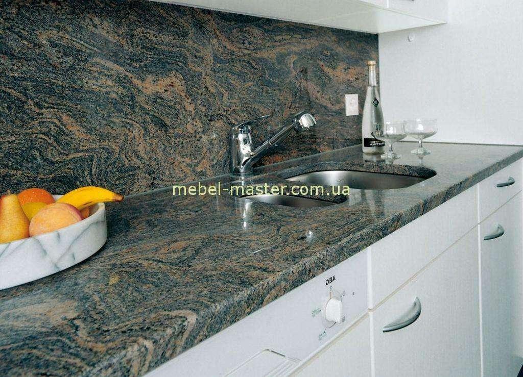 Отделка кухонь искусственным камнем