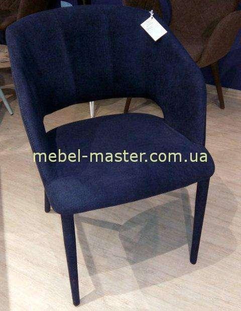 Синий мягкий стул Андорра, Николас