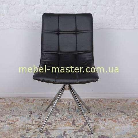 Черный стул из экокожи Престон, Николас
