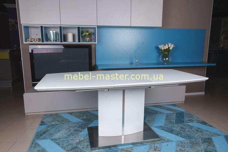 Белый стильный стол DALLAS, Николас