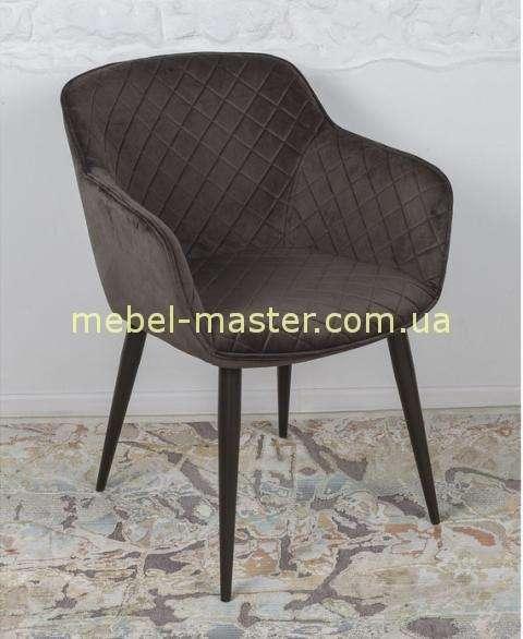 Коричневое мягкое кресло в стиле модерн Бавария, Николас