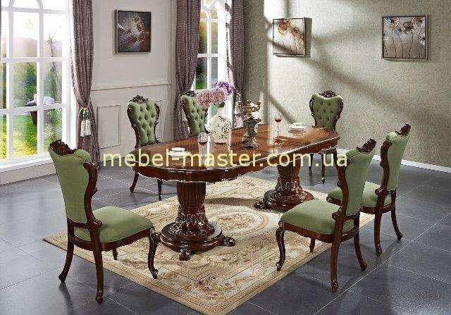 Красивый коричневый обеденный стол Р 96, Малайзия