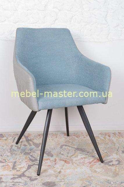 Серо-бирюзовый стул Мая, Николас