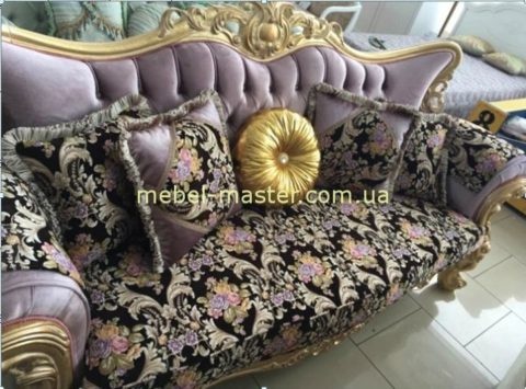 Недорогой классический диван в стиле барокко Берке, Малайзия