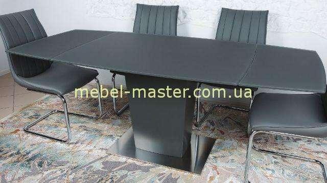 Раскладной стол Оксфорд, Николас в цвете графит