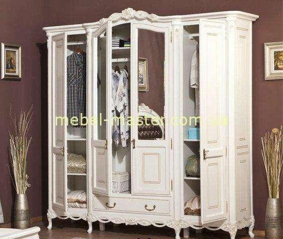 Наполнение белого шкафа Флора, Румыния