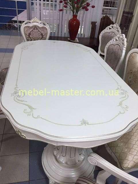 Белый обеденный стол Р 96, Малайзия
