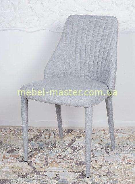Тканевый серый стул Аликанте, Николас