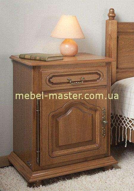 Тумба ореховая для спальни Валентина. Румыния, Симекс