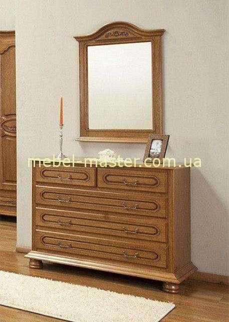 Комод с зеркалом в мебельный гарнитур Валентина, Симекс