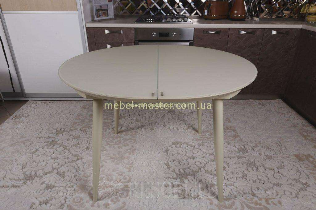 Бежевый стол Гринвич в стиле модерн, Николас