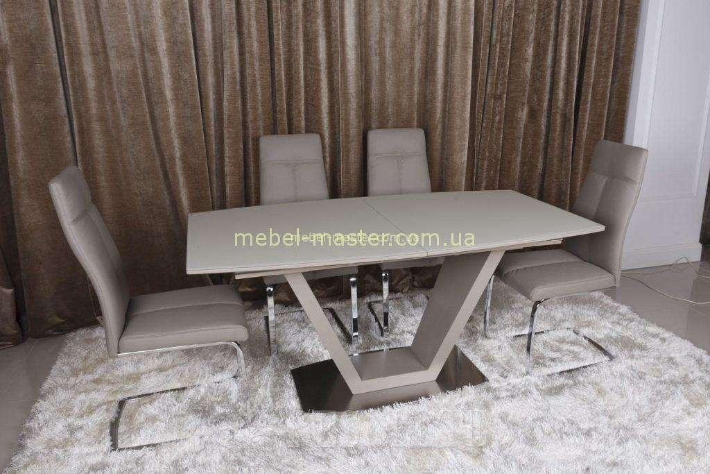 Стильный стол Детройт в цвете мокко, Николас