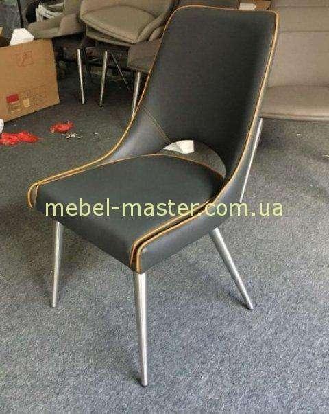 Серый стильный стул ORANGE для баров и ресторанов, Николас