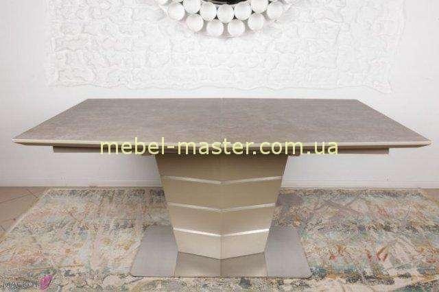 Стол из керамики Балтимор в цвете мокко, Николас