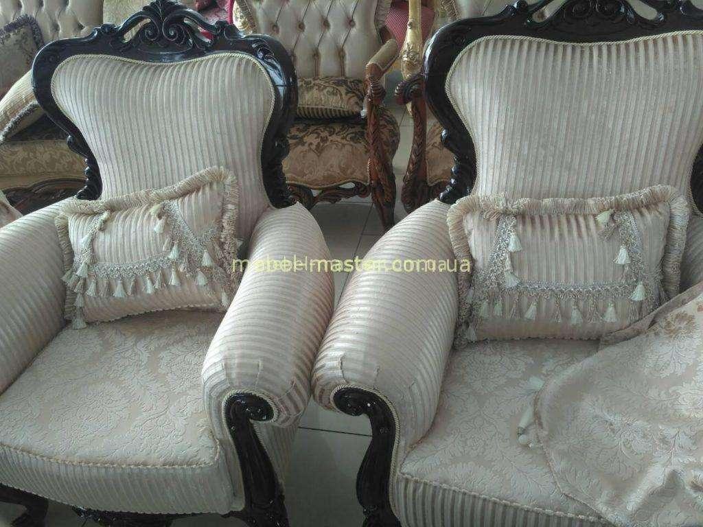 Классические резные кресла Инси для комнаты отдыха, Малайзия