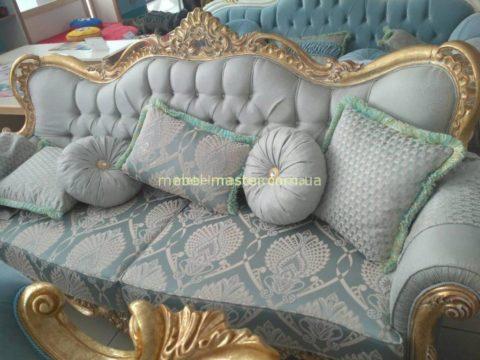 Недорогая резная мягкая мебель Падишах, Китай