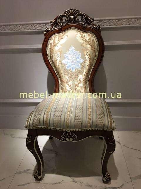 Красивый классический стул в дорогой обивке 8045 Даминг
