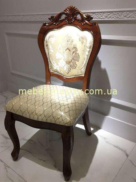 Недорогой коричневый резной стул Даминг 8048