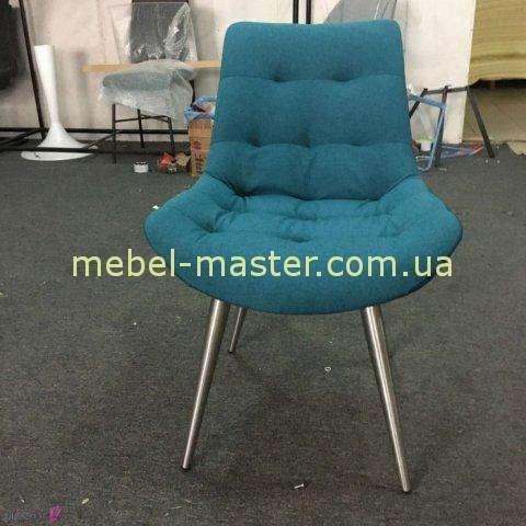 Недорогой мягкий бирюзовый стул Маями, Николас