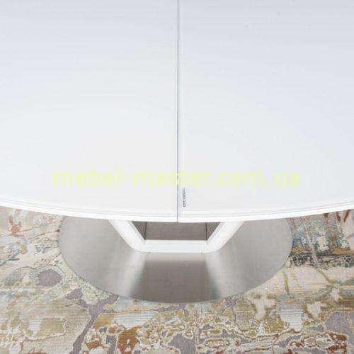 Столешница из сатинового стекла стола Денвер