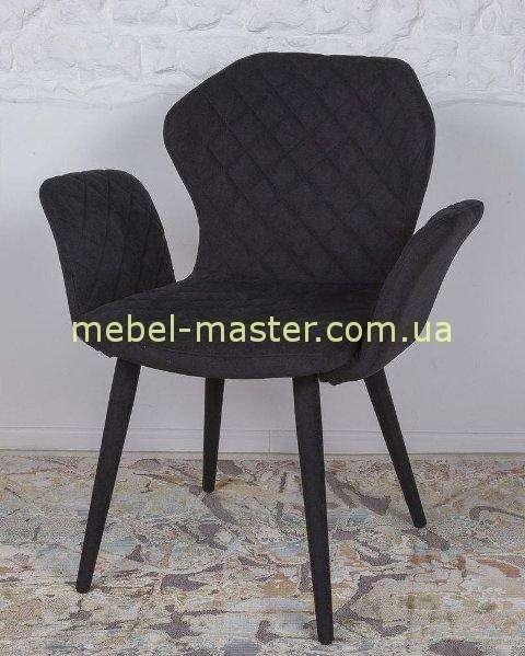Черное мягкое кресло Валенсия, Николас