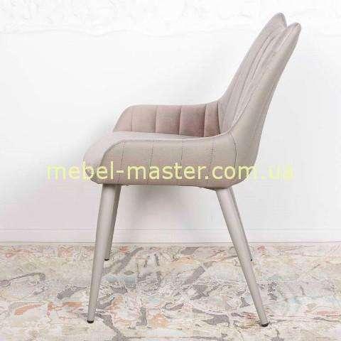 Комбинированный стул из ткани и экокожи Саванна, Николас