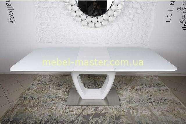 Раскладной стол Торонто в белом цвете, Николас