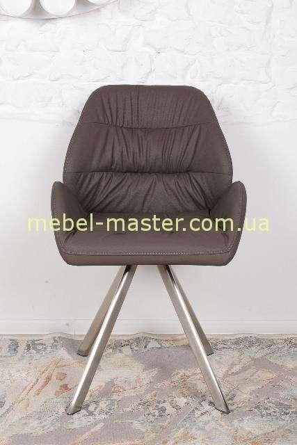 Коричневый мягкий стул-кресло TENERIFE, Николас